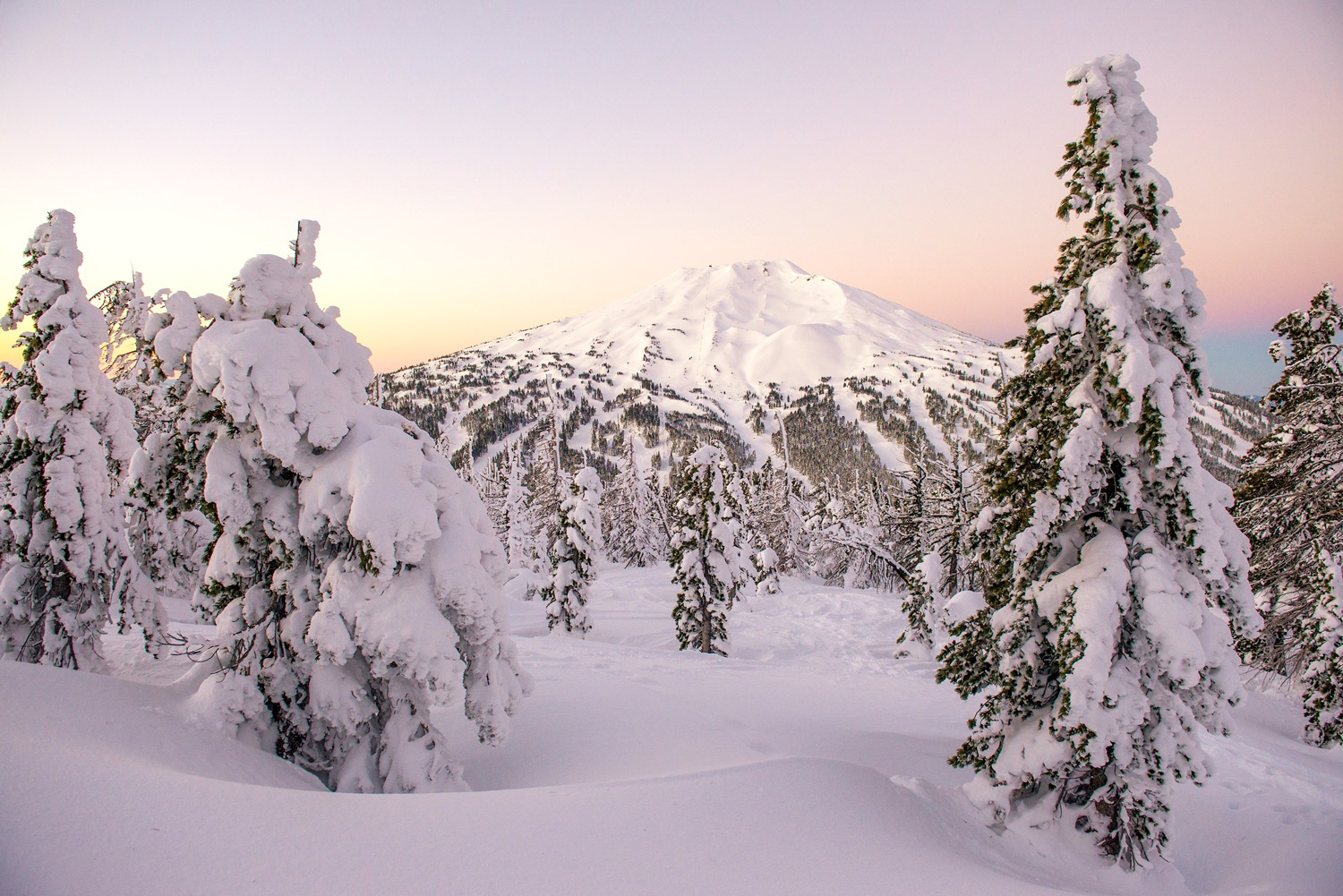 Winter views in the Cascades